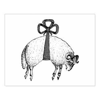 Sello De Caucho Emblema congregado heráldico del escudo de las