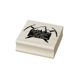 Sello De Caucho Insignia del logotipo de la aventura del vintage,