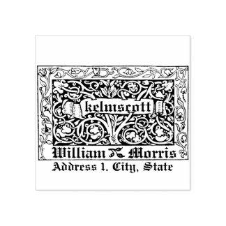 Sello De Caucho Kelmscott de Willaim Morris en 1891