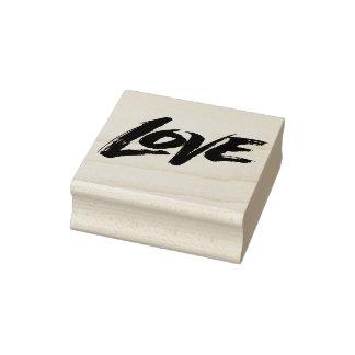 Sello De Caucho Letras de la caligrafía de la tarjeta del día de