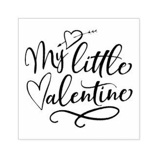 Sello De Caucho Mi pequeña tarjeta del día de San Valentín