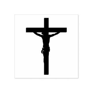 Sello De Caucho Nuestro señor Jesucristo en cruz/el crucifijo