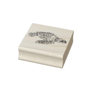Sello De Caucho Tortuga de mar del bebé