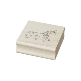 Sello De Caucho Unicornio regular