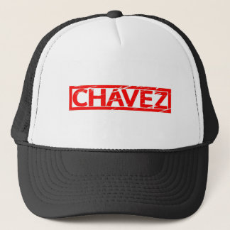 Sello de Chavez Gorra De Camionero