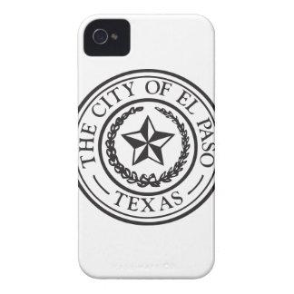 Sello de El Paso iPhone 4 Fundas