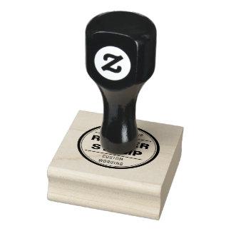 sello de encargo, negocio, logotipo, icono del