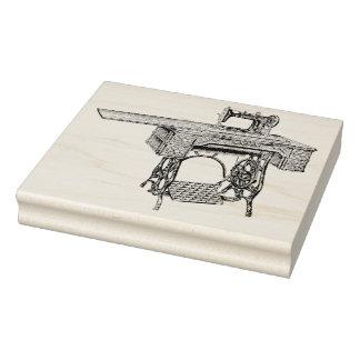 Sello de goma antiguo del arte de la máquina de