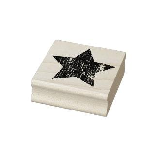 Sello de goma apenado del arte de la estrella de