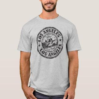 Sello de goma de Los Ángeles, California Camiseta