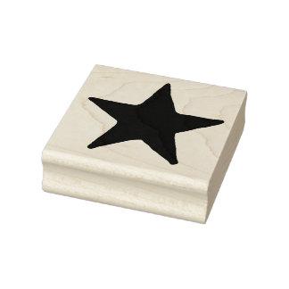 Sello de goma del arte de la estrella grande del