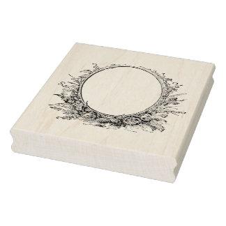 Sello de goma del arte de la guirnalda del marco