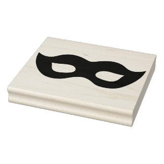 Sello de goma del arte de la silueta de la máscara