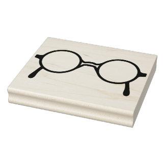 Sello de goma del arte de las lentes del