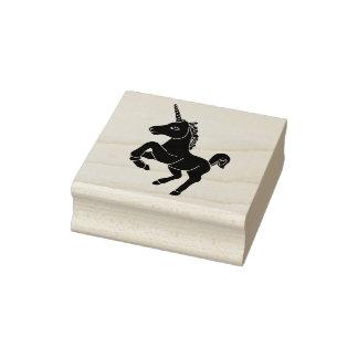 Sello de goma del unicornio (limpio)