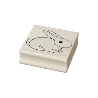 Sello de goma dulce del conejo