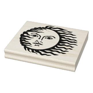Sello de goma ventoso del arte de Sun