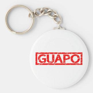 Sello de Guapo Llavero Redondo Tipo Chapa