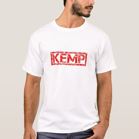Sello de Kemp Camiseta