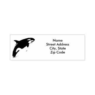 Sello de la dirección de la orca,
