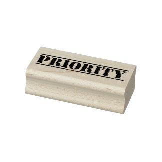 Sello de negocio de la prioridad
