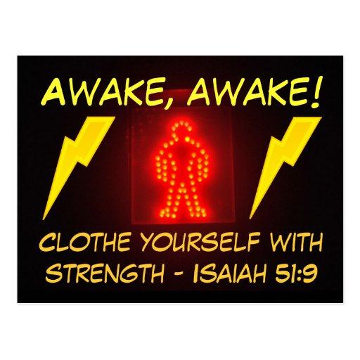 Sello del 51:9 de Isaías Postales