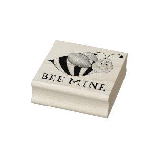 Sello del abejorro de la tarjeta del día de San