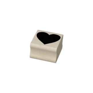 sello del arte de la silueta del corazón
