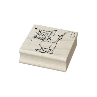 sello del arte del gato callejero