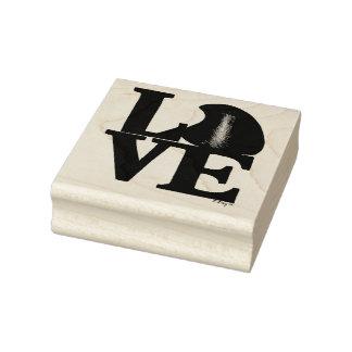 Sello del el día de San Valentín del caramelo de