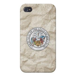 Sello del estado de Arkansas iPhone 4 Protectores