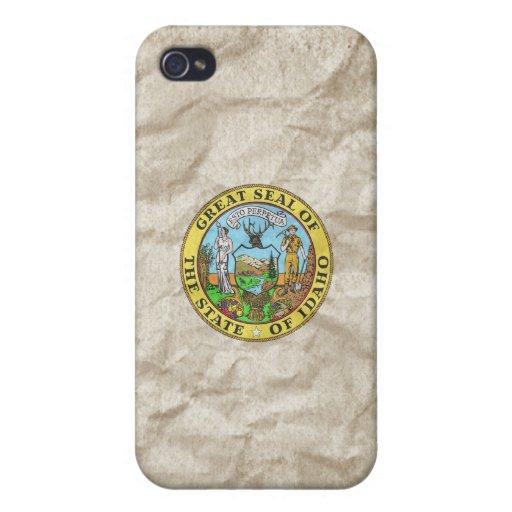 Sello del estado de Idaho iPhone 4 Cárcasa