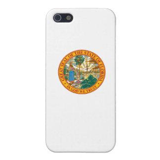 Sello del estado de la Florida iPhone 5 Carcasas