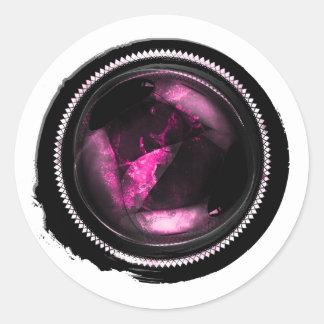 Sello del ópalo Amethyst rosado místico del escudo