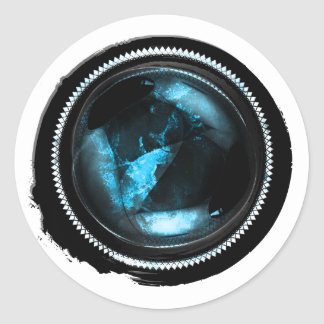 Sello del ópalo del escudo del zafiro místico