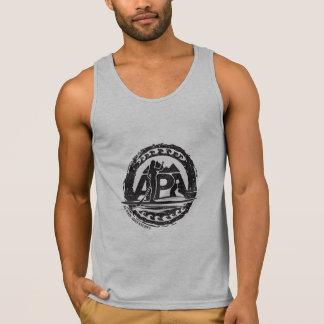 Sello del tanque de los individuos camiseta de tirantes