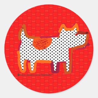 sello digital del pegatina de la pintura del