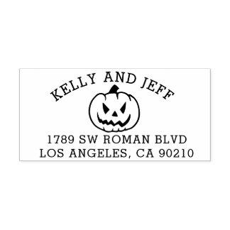 Sello Halloween del remite