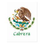 Sello nacional mexicano de Cabrera