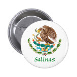 Sello nacional mexicano de las salinas chapa redonda 5 cm