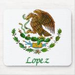 Sello nacional mexicano de López Alfombrilla De Ratón