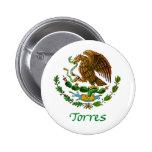 Sello nacional mexicano de Torres Chapa Redonda 5 Cm