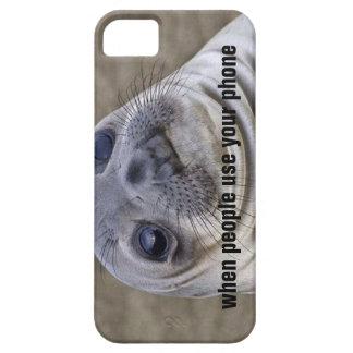 Sello torpe del momento - cuando la gente utiliza iPhone 5 Case-Mate carcasas