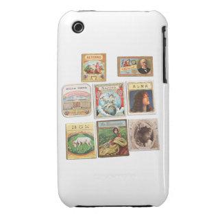 Sellos Cuba Vintage Etiquetas Memorabilia Funda Bareyly There Para iPhone 3 De Case-Mate