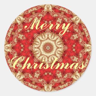 Sellos del sobre del cordón de las Felices Navidad