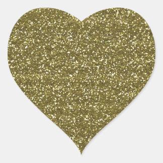 Sellos en blanco elegantes del brillo del oro