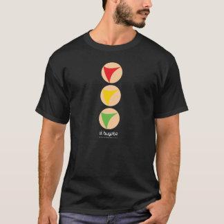 Semáforo sin color destacado - negro camiseta