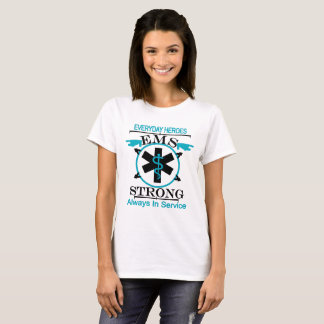 Semana del servicio médico de la emergencia que camiseta