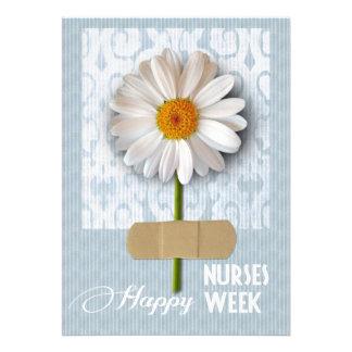 Semana feliz de las enfermeras. Tarjetas de felici Comunicados Personalizados