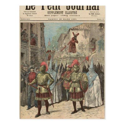 Semana santa en Sevilla Postal
